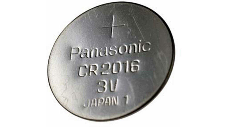 Markenbatterie Panasonic CR2016 Knopfzelle 1 Stück