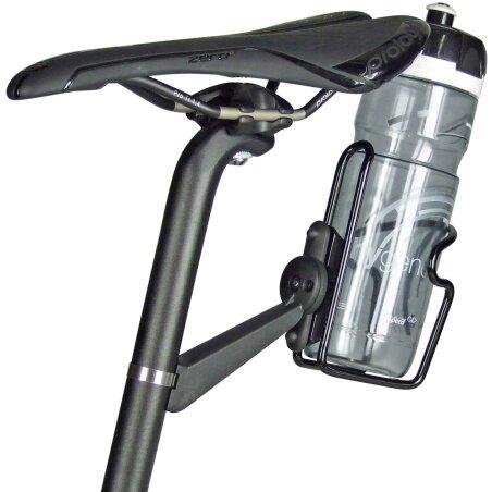 KLICKfix Bottlefix Extender für Sattelstütze Flaschenhalter-Adapter