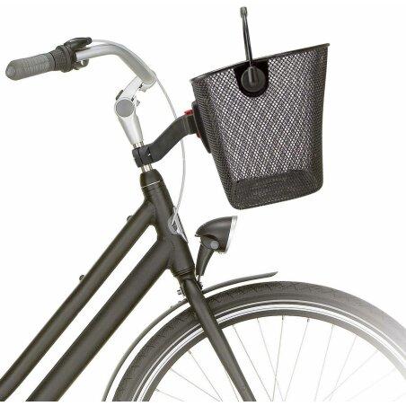 KLICKfix Unilux Fahrrad/Lenkerkorb schwarz
