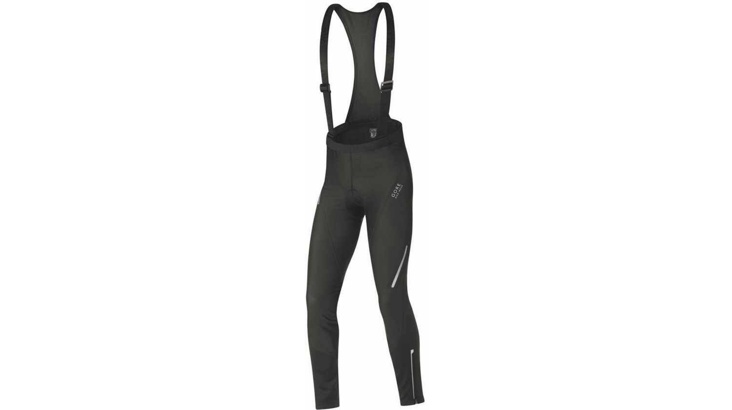 GORE Bike Wear Phantom SO Windstopper Soft Shell Bibtights+ Trägerhose lang schwarz