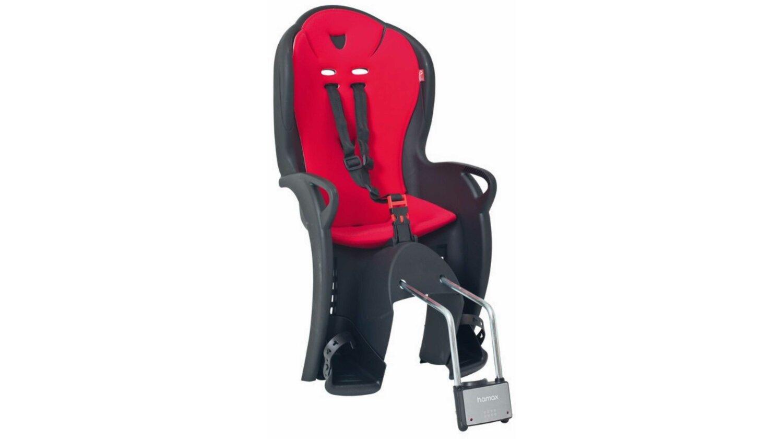 Hamax Kiss Kindersitz schwarz/rot