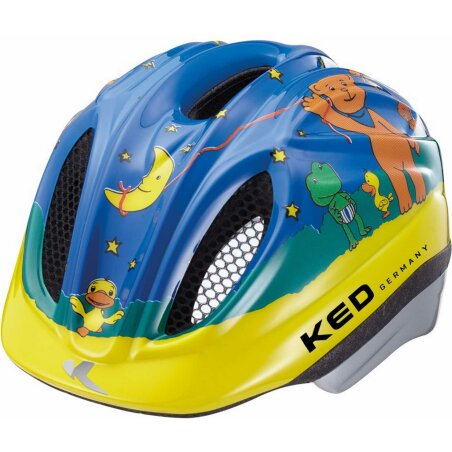 KED Meggy Originals Der Mondbär Kinder-Helm