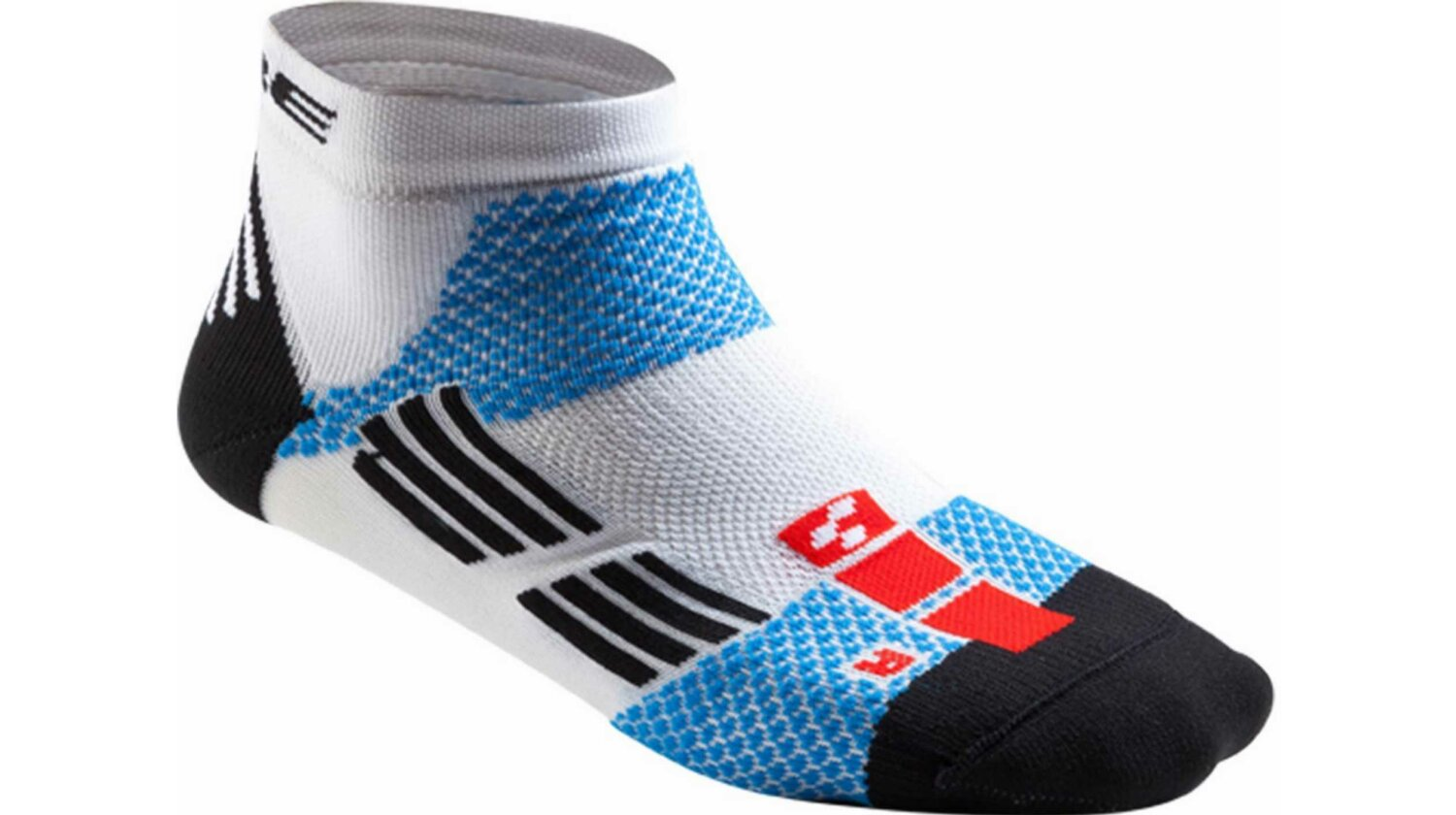 Cube Race Cut Teamline Socke