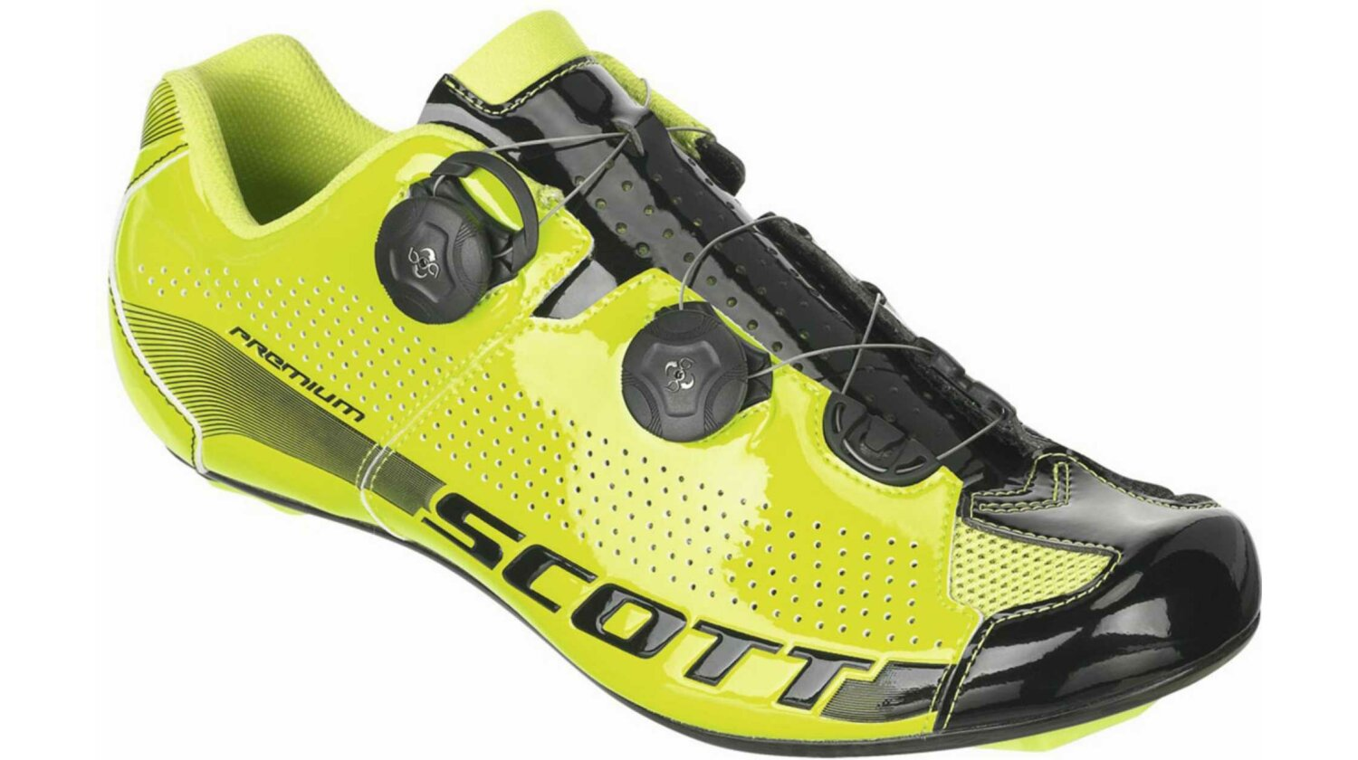 Scott Road Premium Schuh green/black gloss 44
