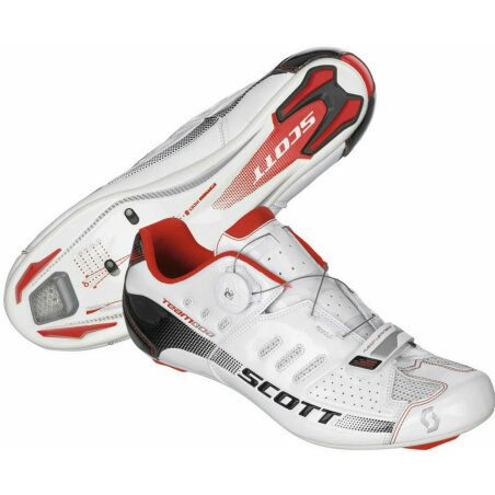 Scott Road Team Boa Schuh white gloss 46