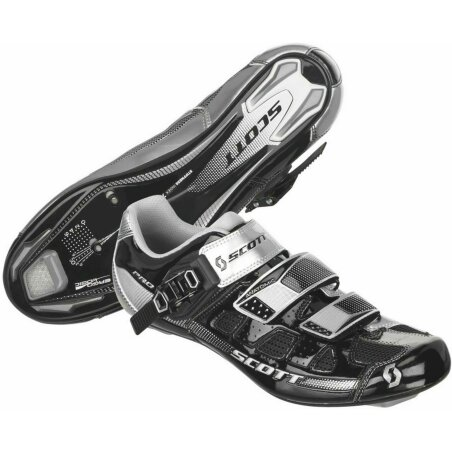 Scott Road Pro Schuh black/silver gloss 46