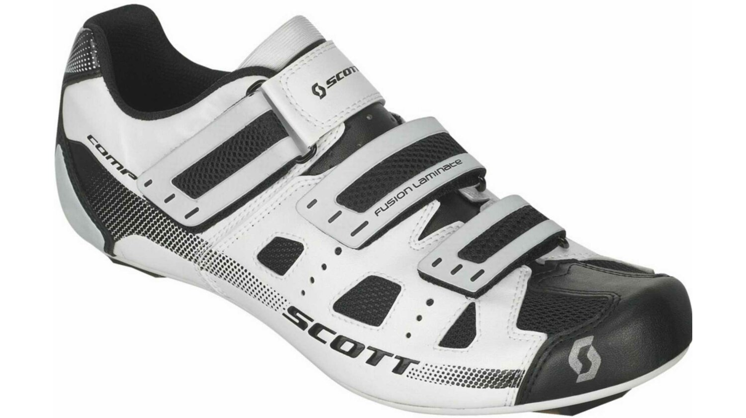 Scott Road Comp Schuh white/black 48