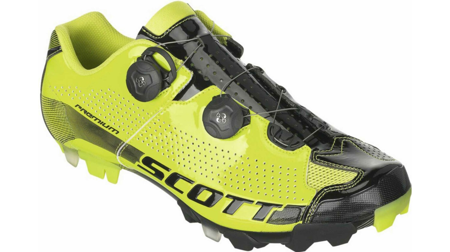 Scott MTB Premium Schuh green/black gloss 46