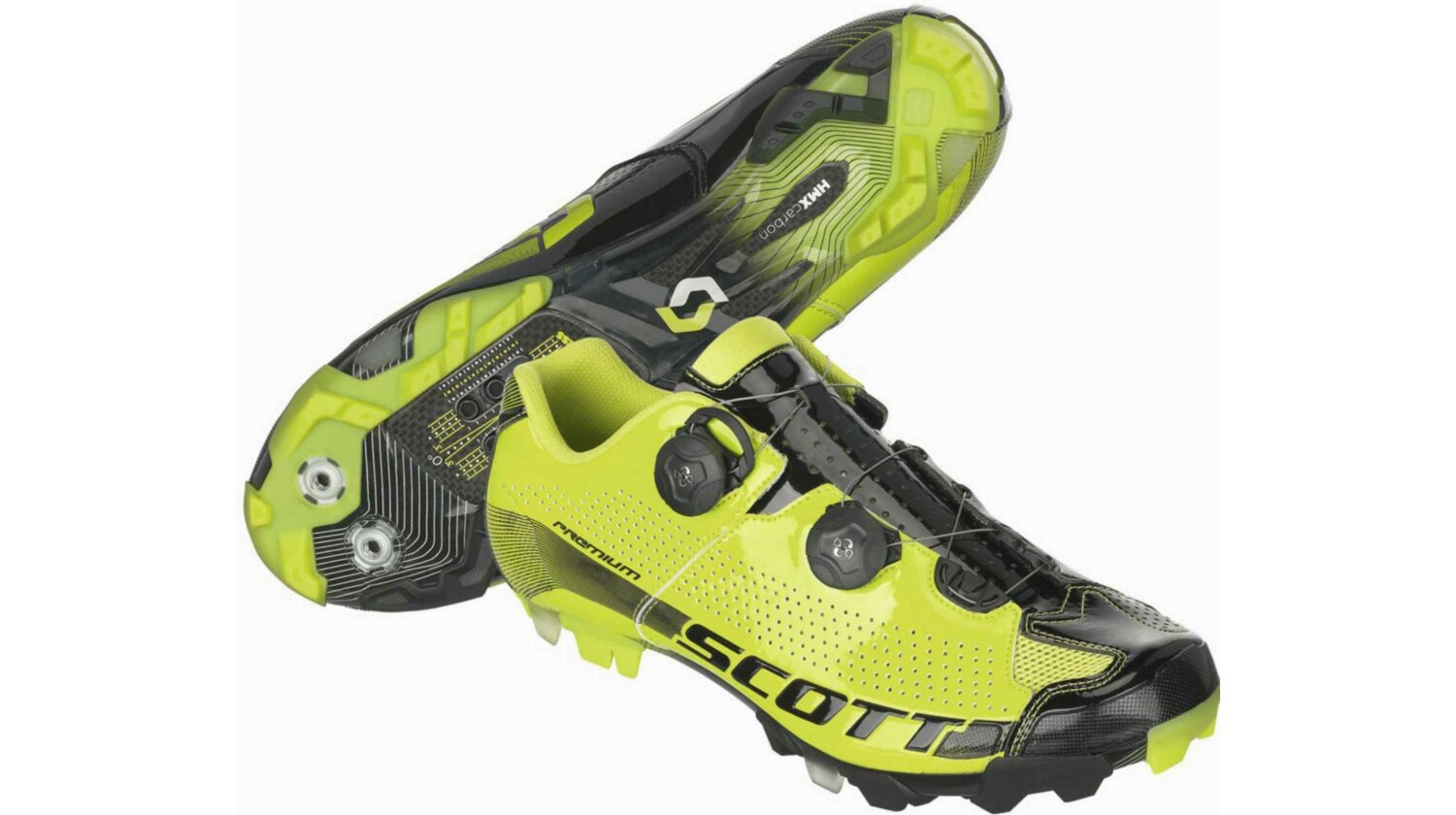 Scott MTB Premium Schuh green/black gloss 48