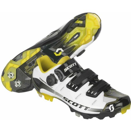 Scott MTB Team Issue Schuh white/black gloss