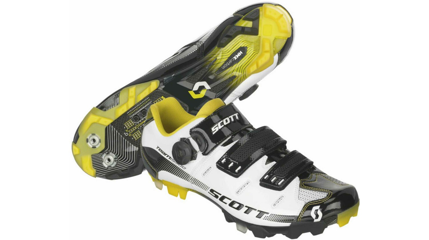 Scott MTB Team Issue Schuh white/black gloss 45