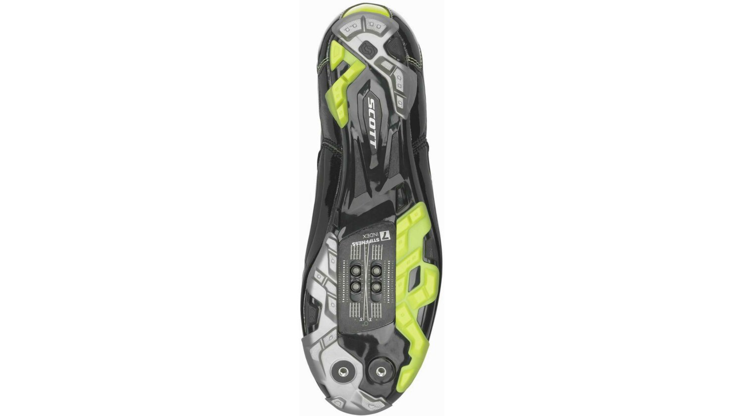Scott MTB Team Boa Schuh black/lime green gloss 40