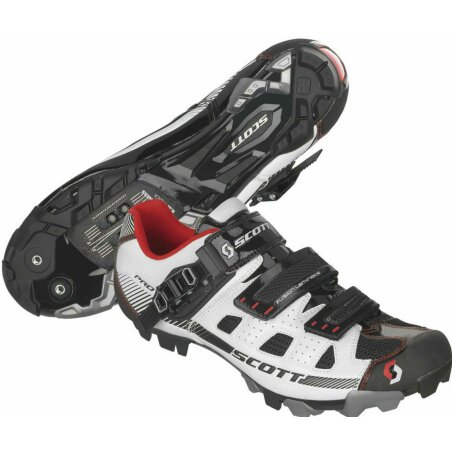 Scott MTB Pro Schuh white/black gloss 44