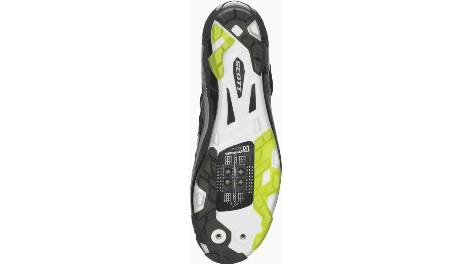 Scott MTB Comp Schuh black/lime green gloss