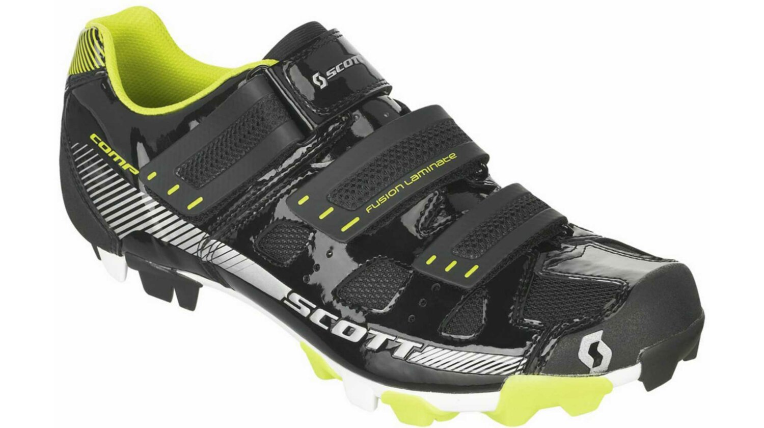 Scott MTB Comp Schuh black/lime green gloss 46