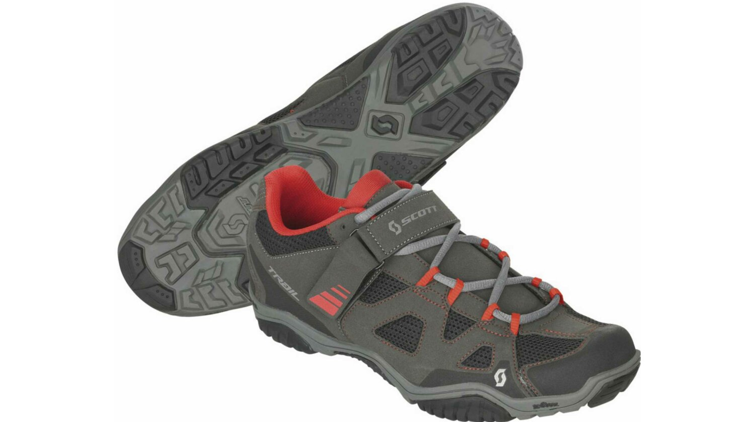 Scott Trail Evo Schuh black/red 47