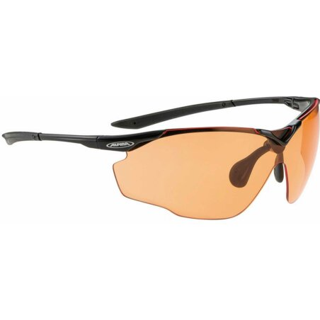 Alpina Splinter VL Brille black/orange