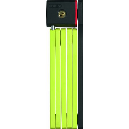 Abus uGrip Bordo 5700/80 Faltschloss lime 80cm