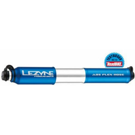 Lezyne Pressure Drive Handpumpe blue
