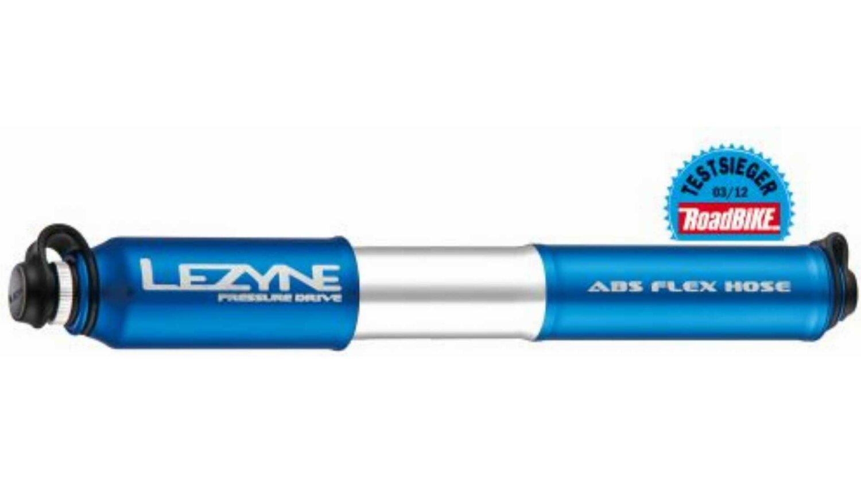 Lezyne Pressure Drive Handpumpe blue M