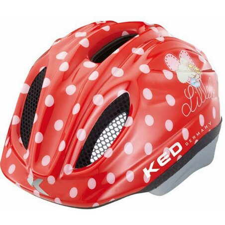 KED Meggy Originals Lillebi rot Kinder-Helm