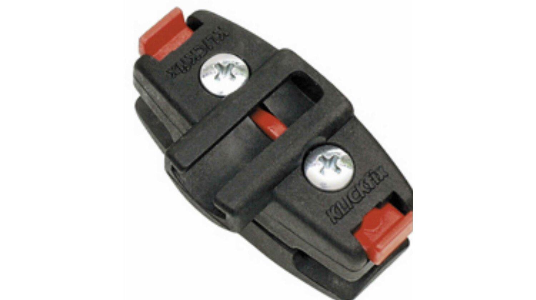 KLICKfix Satteladapter mit Seilschlosshalter