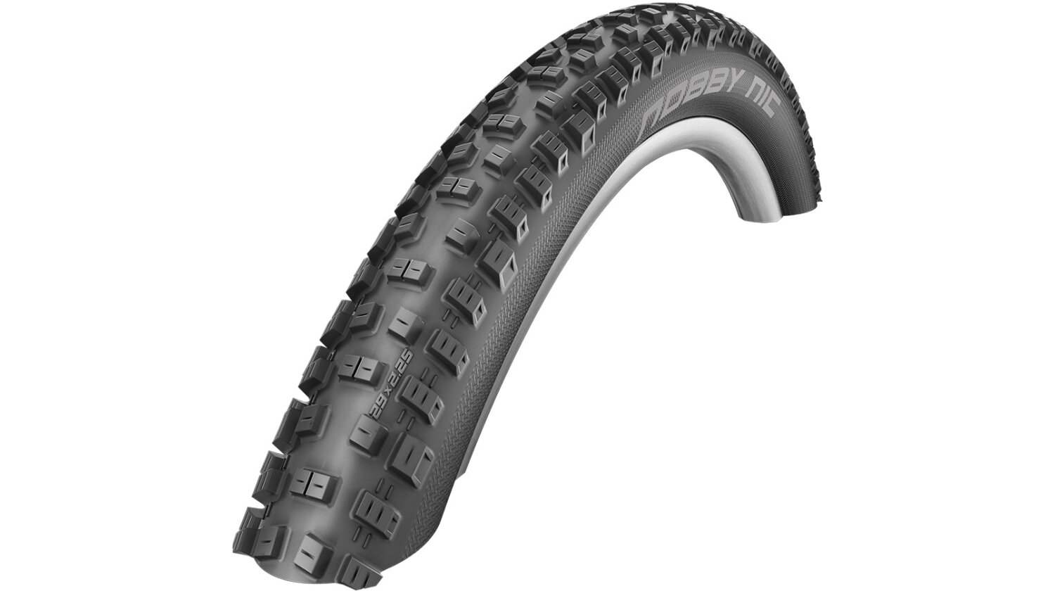 Schwalbe Nobby Nic Evolution 4-Cross 26 Faltreifen 57-559 SnakeSkin, TL Easy, GateStar