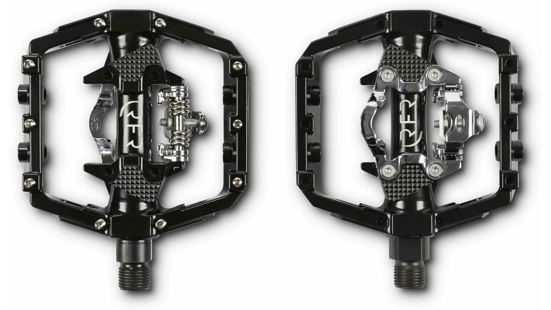 rfr flat klick pedal mit spd klick system black g nstig. Black Bedroom Furniture Sets. Home Design Ideas
