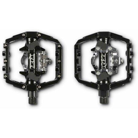 RFR Flat & Klick Pedal mit SPD Klick-System black