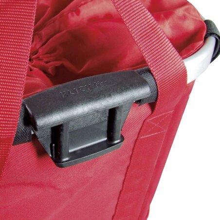 KLICKfix Reisenthel Bikebasket Lenkertasche mit Aluminumrahmen Rot
