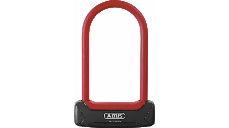 Abus Granit Plus 640 Bügelschloss schwarz/rot 150 mm standard