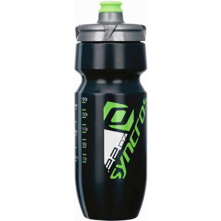 Syncros Corporate Plus 650ml Trinkflasche black/green