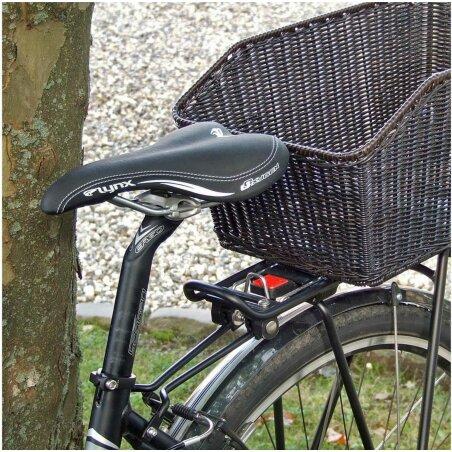 KLICKfix Structura GT Hinterradkorb für GTA schwarz fein