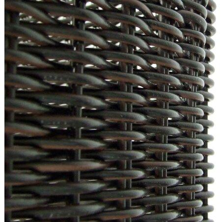 KLICKfix Structura GT Gepäckträgerkorb für Racktime schwarz fein