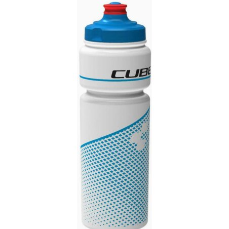 Cube Trinkflasche 0,75l  Teamline whitenblue
