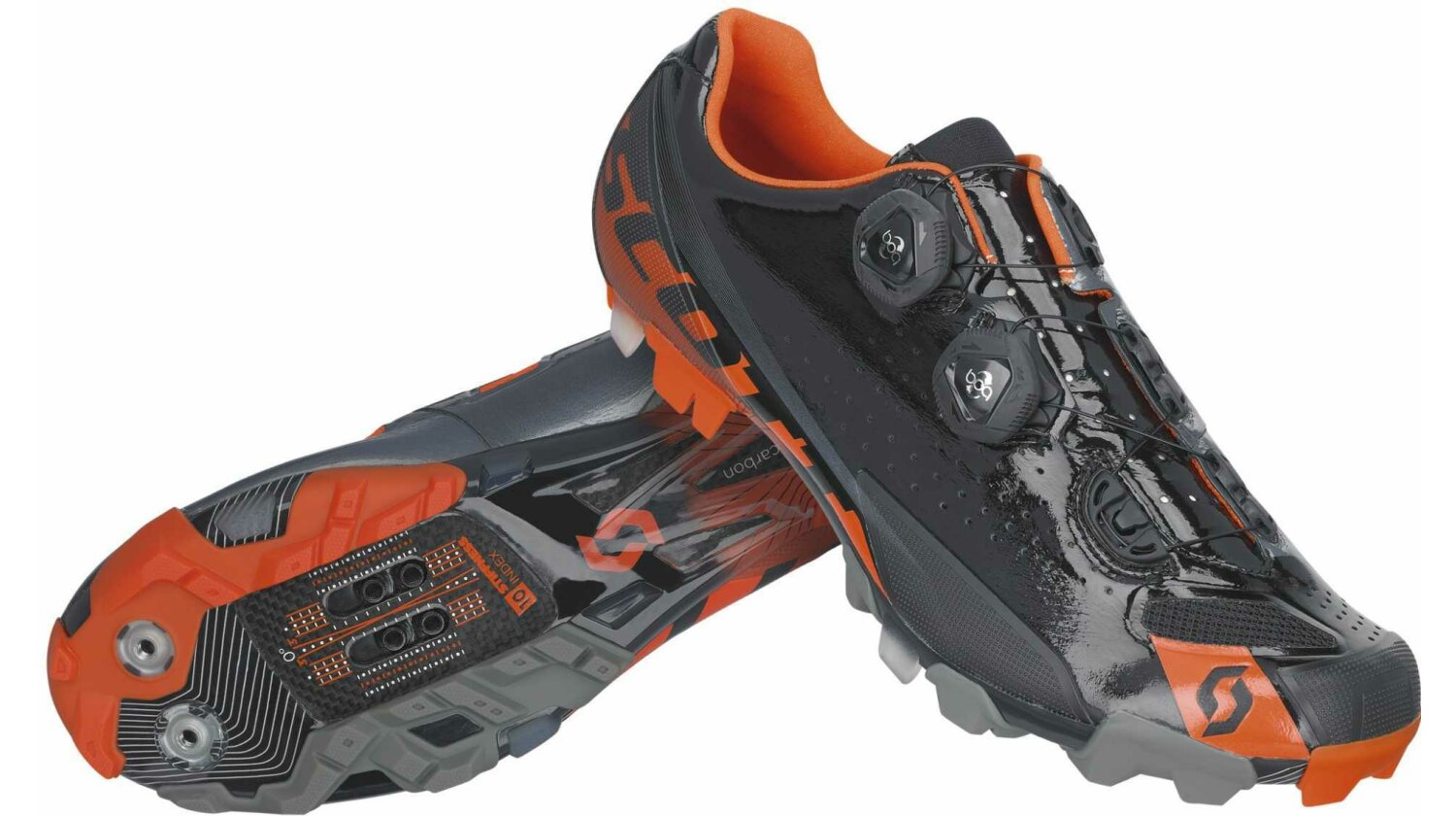 Scott MTB Premium Schuh black/orange gloss 38