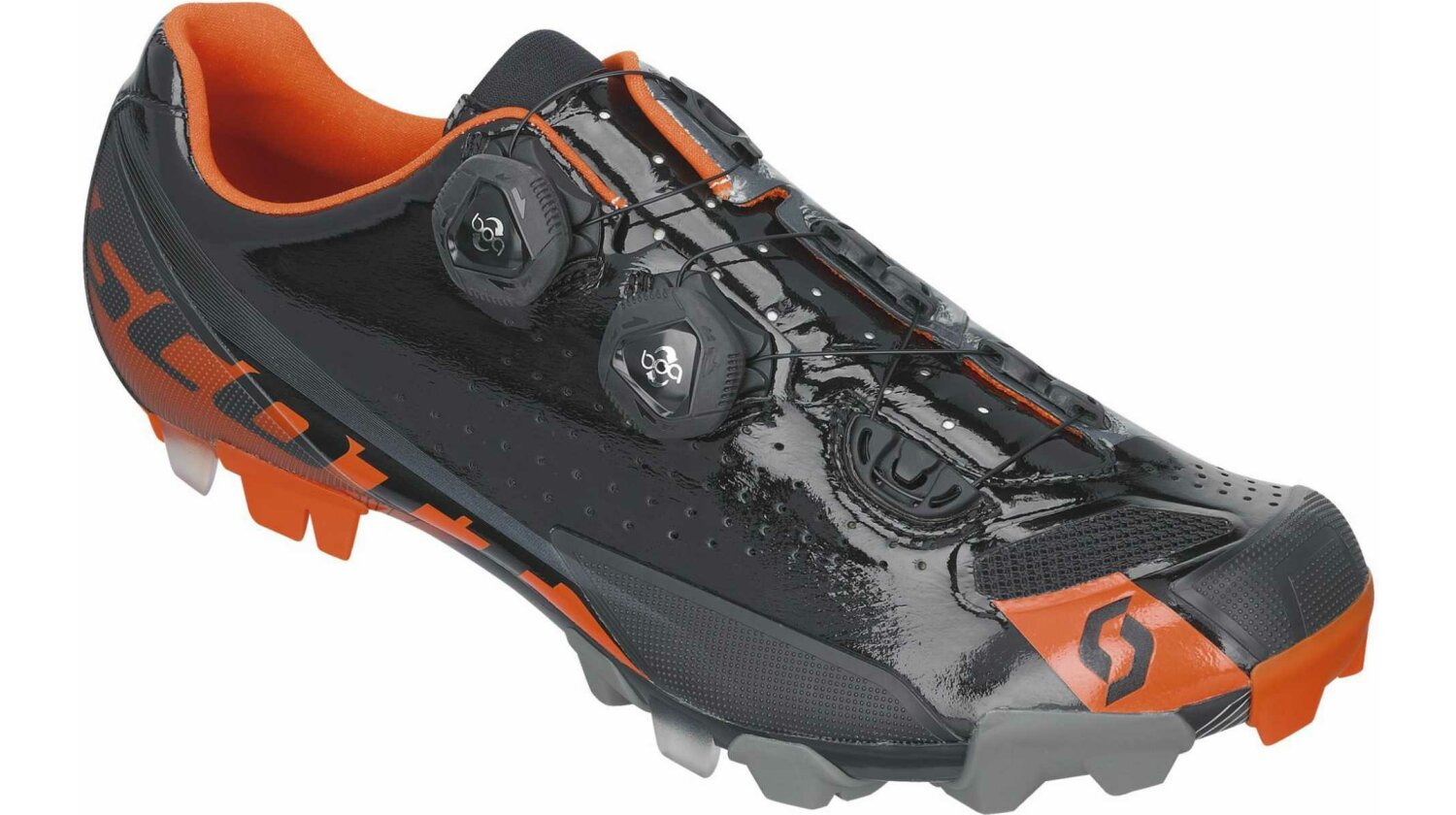 Scott MTB Premium Schuh black/orange gloss 39