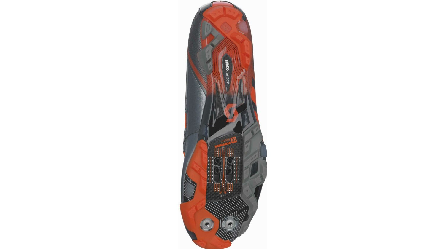 Scott MTB Premium Schuh black/orange gloss 44