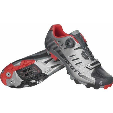 Scott MTB Team Boa Schuh dark grey/black