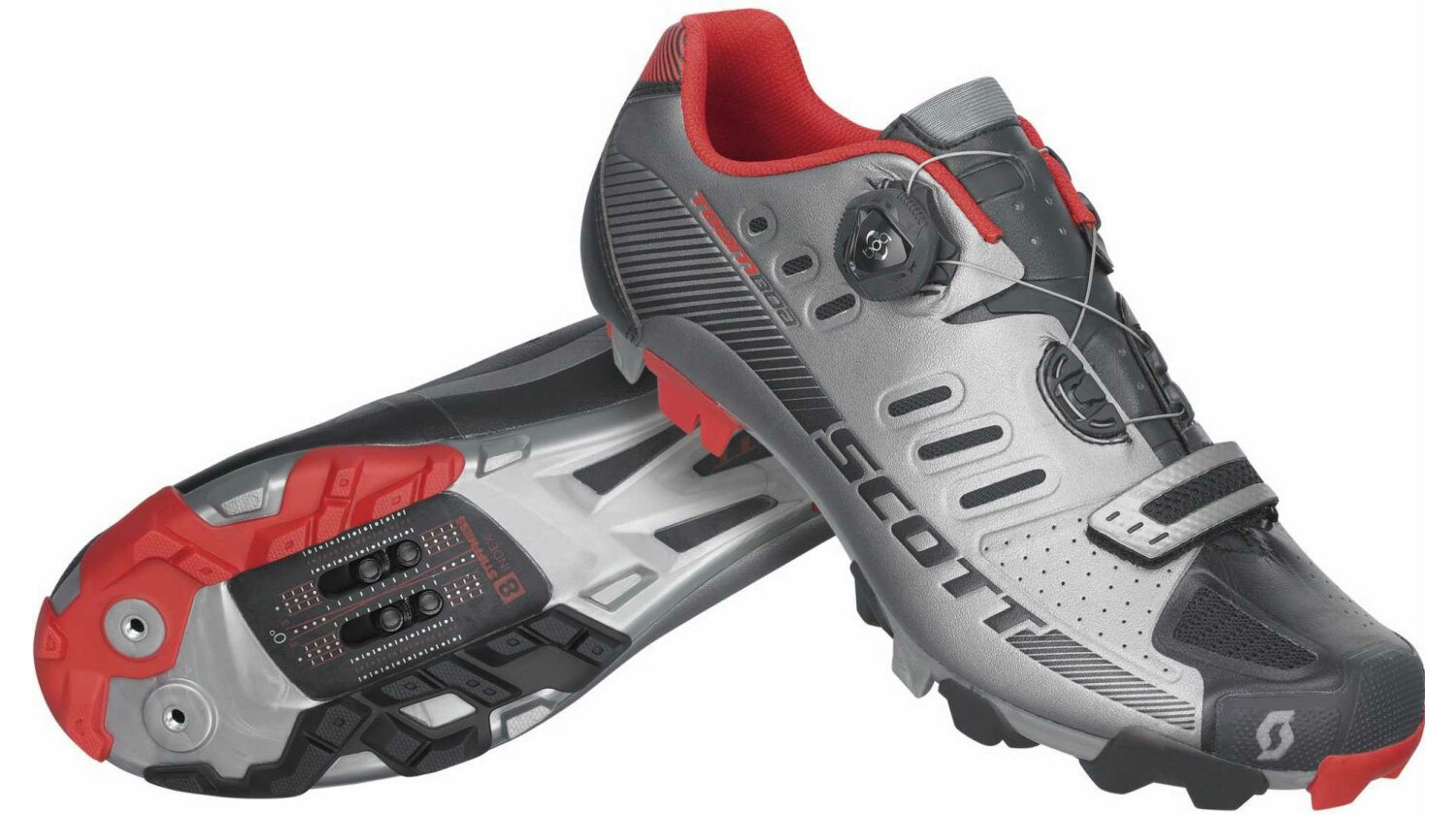 Scott MTB Team Boa Schuh dark grey/black 43