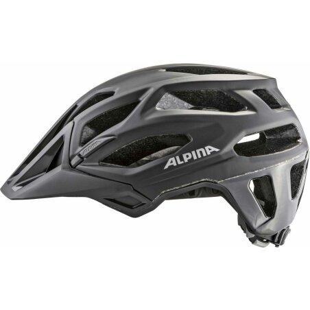 Alpina Garbanzo MTB-Helm black 52-57 cm
