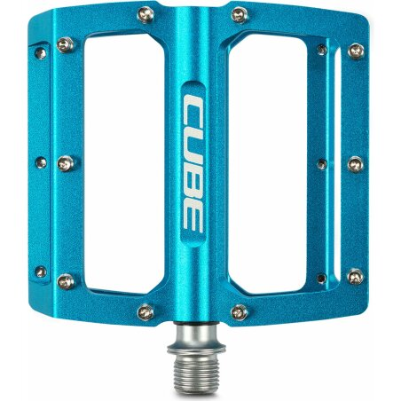 Cube All Mountain Pedal Flat blue