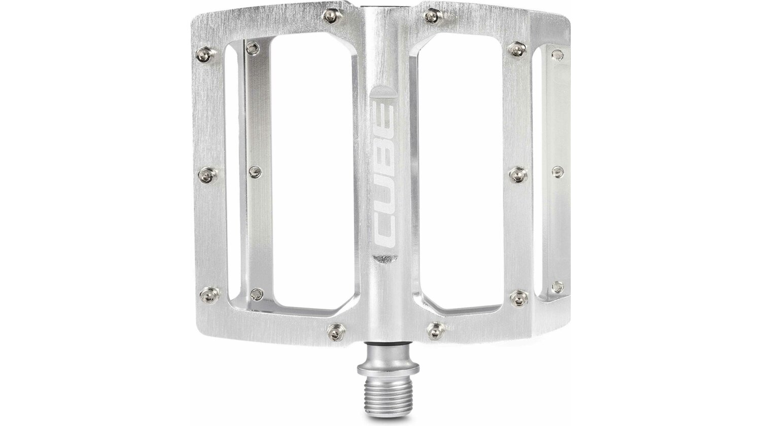 Cube All Mountain Pedal Flat silver brushed