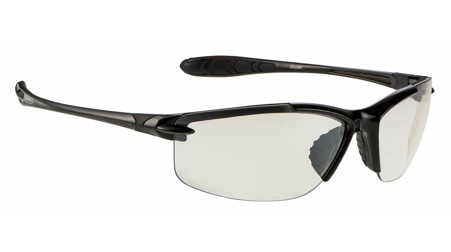Alpina Glyder Brille black/clear CMC