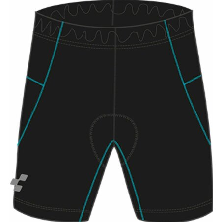 Cube Junior Radhose kurz black´n´blue