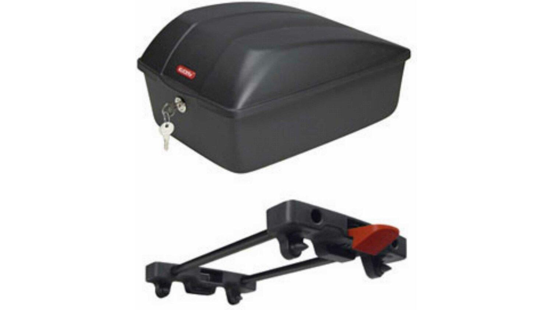 Klickfix Bike Box 12 l für Racktime schwarz