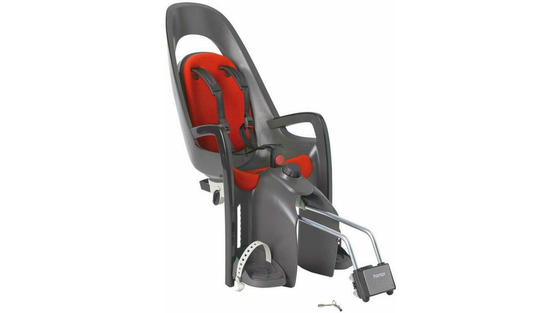 Hamax Caress Kindersitz grau/dkl. grau/rot