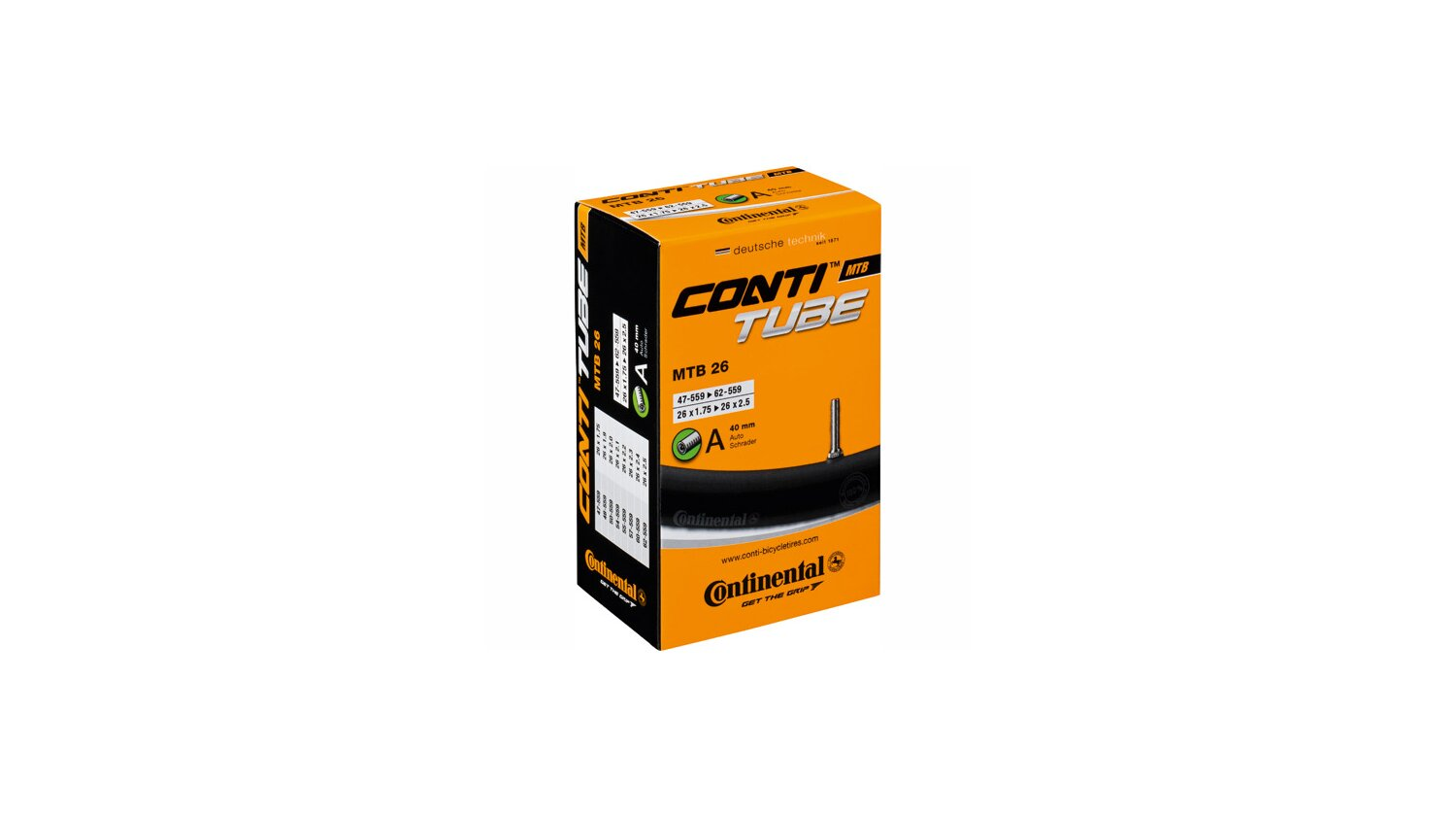 Continental MTB 26 Schlauch 26 SV60mm