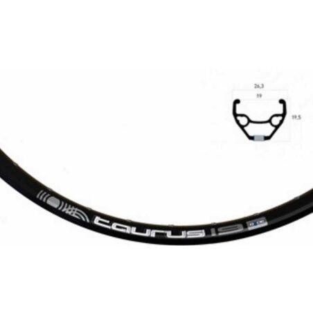 Laufrad VR Rigida Taurus Disc schwarz + Shimano RM33 Disc...