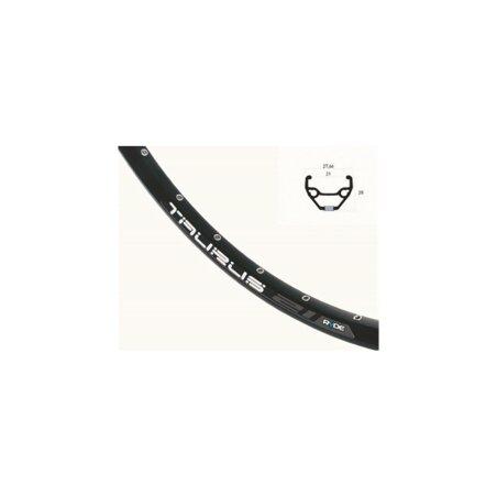 Laufrad VR Rigida Taurus Disc schwarz + Shimano RM475...